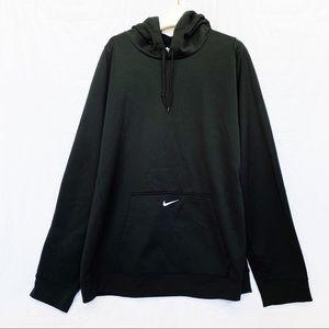 Nike Black Therma-Fit Hoodie Size XL
